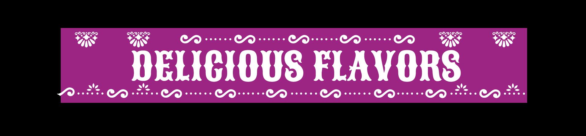 Delicious-Flavors-Title